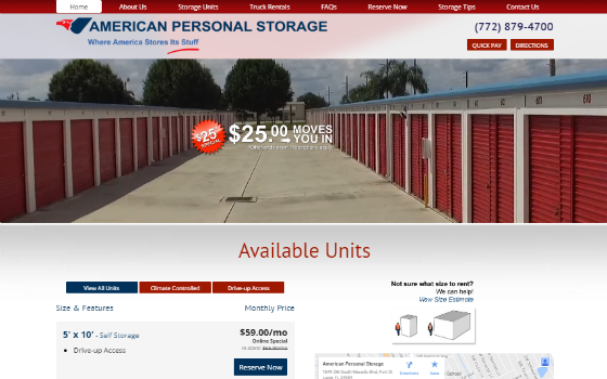 American Personal Storage