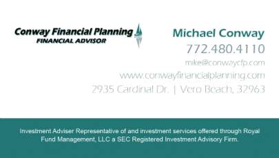 Conway Financial Business Card
