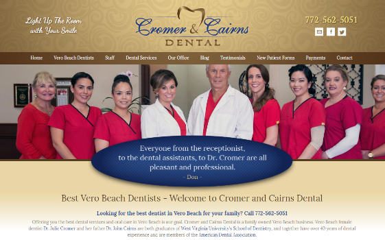 Cromer and Cairns Dental. This link opens new window.