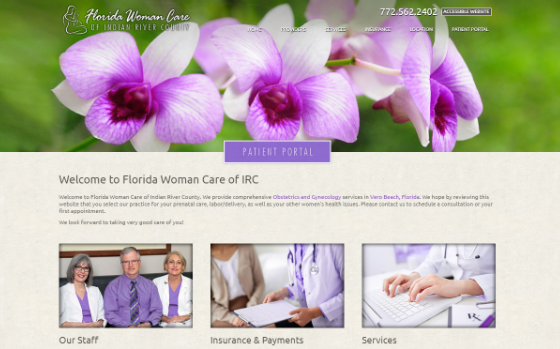 Visit Florida Woman Care of Indian River County. This link opens new window.