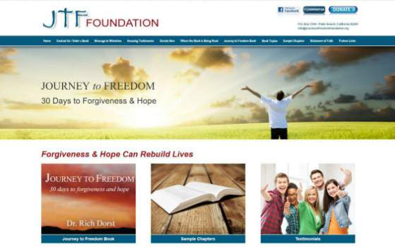 Journey to Freedom Foundation. This link opens new Window.