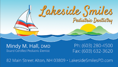 Lakeside Smiles Pediatric Dentistry Business Card
