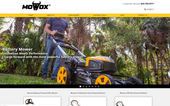 Visit Mow Ox Usa. This link opens new window.