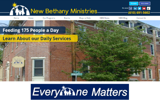 New Bethany Ministries. This link opens new window.