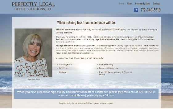 Visit Perfectly Legal Office Solutions. This link opens new window.