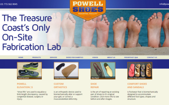 Powell Shoes. This link opens new window.