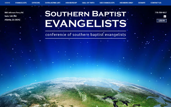 Southern Baptist Evangelists. This link opens new window.