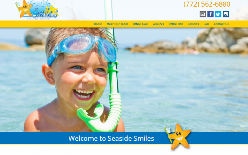 Seaside Smile Vero Beach  homepage