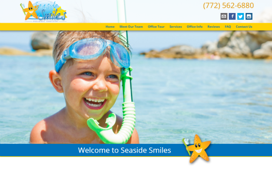 Visit Seaside Smiles.com. This link opens new window.