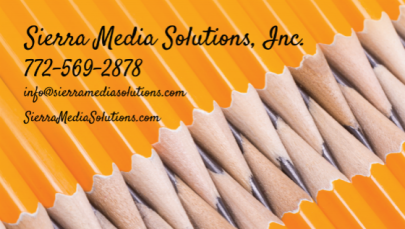 Sierra Media Solutions Business Card