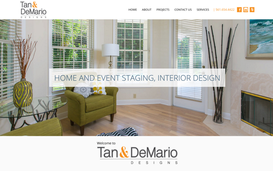 Goes to Tan and DeMario website. Opens new window.