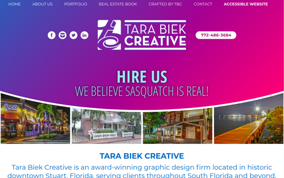 Tara Biek Creative. Opens new window.
