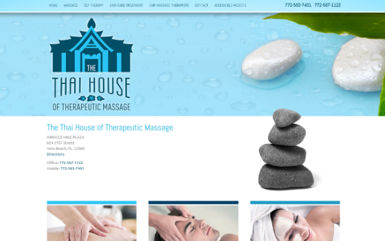 The Thai House of Therapeutic Massage of Vero Beach. Opens new window.