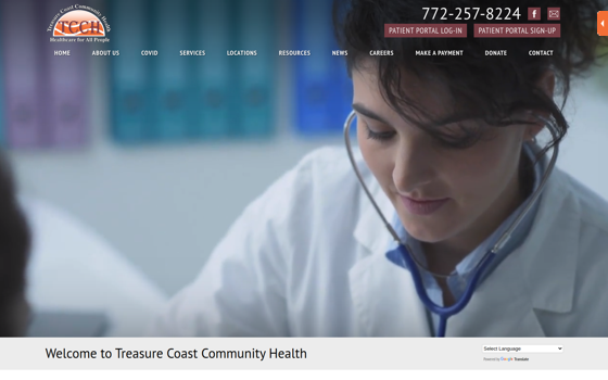 Treasure Coast Community Health. This link opens new window.