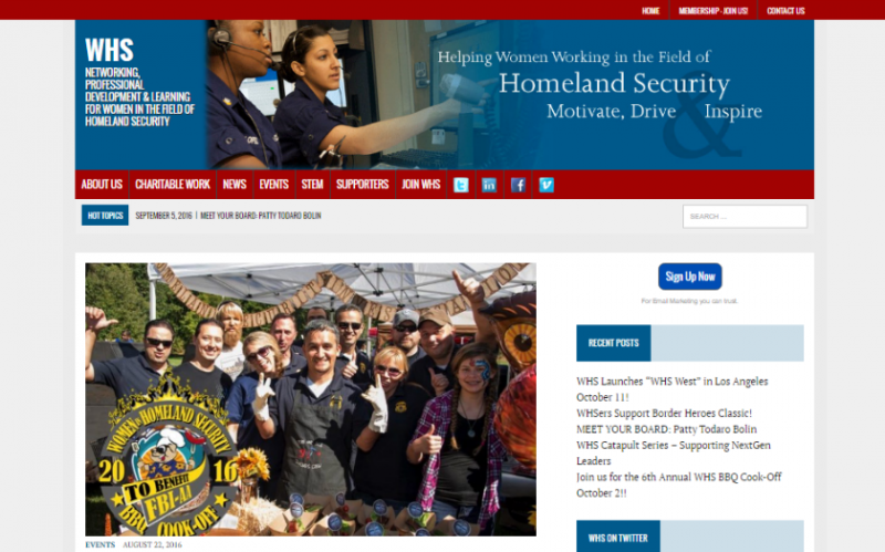 Women in Homeland Security