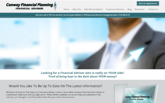 Conway Financial Planning. This link opens new window.