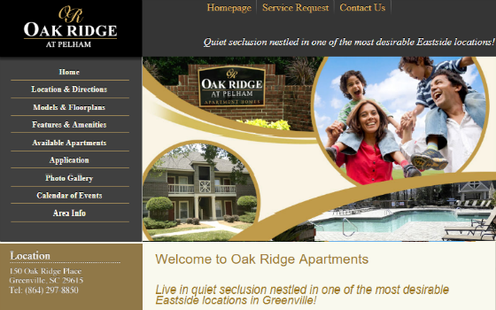 Visit Oak Ridge Apartments. This link opens new window.