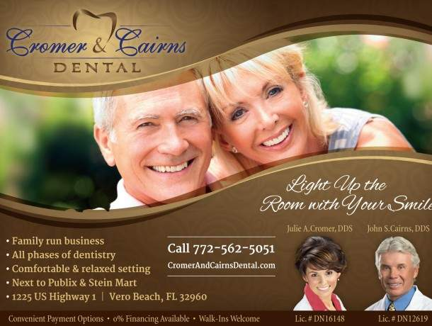 Cromer and Cairns Dental Advertisement