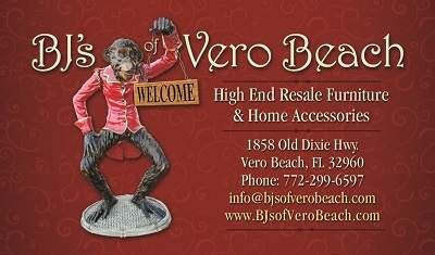 BJ's Vero Beach Business Card